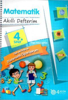 4 Adım Yayıncılık 4. Sınıf Matematik Akıllı Defterim