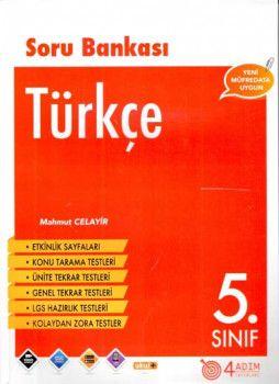 4 Adım Yayıncılık 5. Sınıf Türkçe Soru Bankası