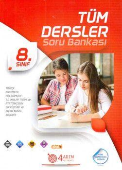 4 Adım Yayıncılık 8. Sınıf Tüm Dersler Soru Bankası