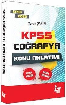 4T Yayınları 2020 KPSS Coğrafya Konu Anlatımı