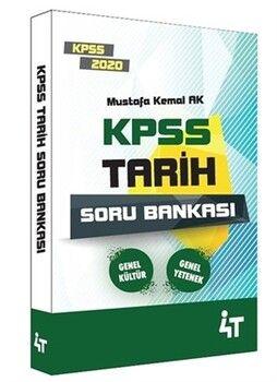4T Yayınları 2020 KPSS Tarih Soru Bankası