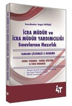 4T Yayınları İcra Müdür ve İcra Müdür Yardımcılığı Sınavlarına Hazırlık