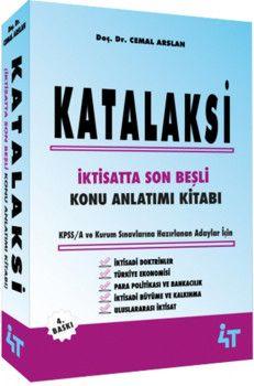 4T Yayınları Katalaksi İktisatta Son Beşli Konu Anlatımı Kitabı
