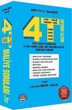4T Yayınları Maliye Soruları