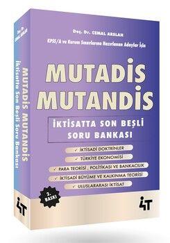 4T Yayınları Mutadis Mutandis İktisatta Son Beşli Soru Bankası