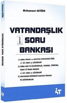 4T Yayınları Vatandaşlık Soru Bankası