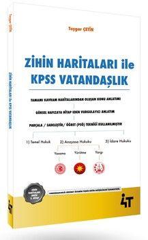 4T Yayınları Zihin Haritaları İle KPSS Vatandaşlık
