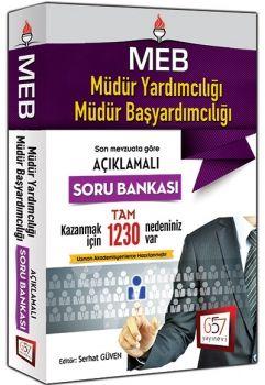 657 Yayınları 2016 MEB Müdür Yardımcılığı ve Müdür Başyardımcılığı Açıklamalı Soru Bankası
