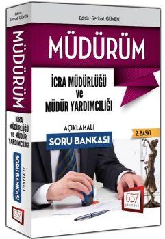 657 Yayınları 2016 MÜDÜRÜM İcra Müdür ve Müdür Yardımcılığı Soru Bankası