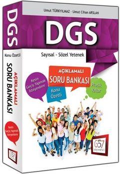 657 Yayınları 2016 DGS Sayısal Sözel Yetenek Konu Özetli Açıklamalı Soru Bankası