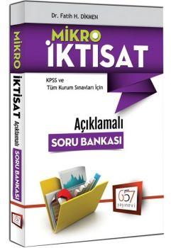 657 Yayınları 2017 KPSS A Grubu Mikro İktisat Açıklamalı Soru Bankası