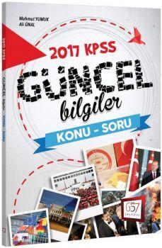 657 Yayınları 2017 KPSS Güncel Bilgiler Konu Soru