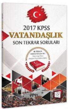 657 Yayınları 2017 KPSS Vatandaşlık Son Tekrar Soruları