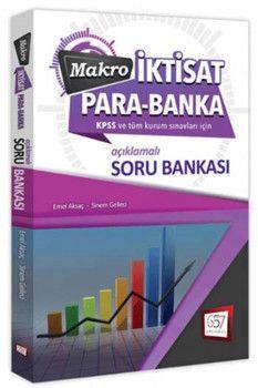 657 Yayınları 2019 KPSS A Grubu Makro İktisat Para Banka Soru Bankası