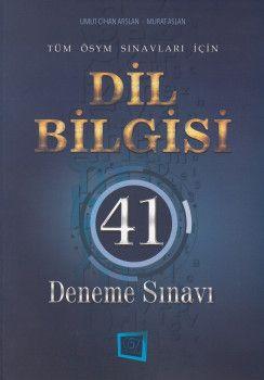 657 Yayınları Dil Bilgisi 41 Deneme Sınavı