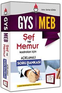 657 Yayınları GYS 2016 MEB Şef ve Memurlar İçin Açıklamalı Soru Bankası
