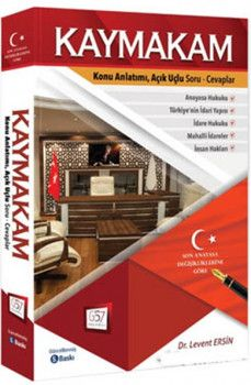 657 Yayınları Kaymakamlık Konu Anlatımlı Hazırlık Kitabı