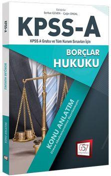 657 Yayınları KPSS A Grubu Borçlar Hukuku Konu Anlatım