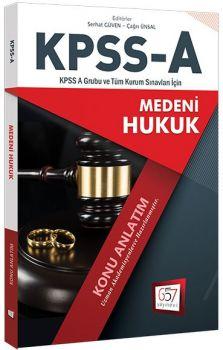 657 Yayınları KPSS A Grubu Medeni Hukuk Konu Anlatım