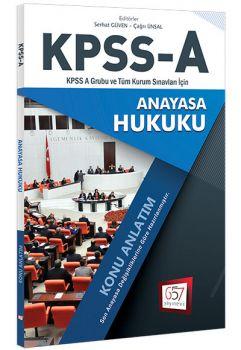 657 Yayınları KPSS A Grubu Anayasa Hukuku Konu Anlatım