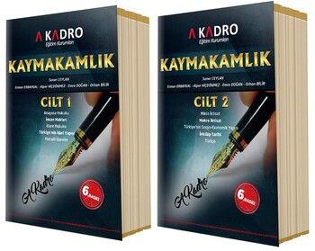 A Kadro Kaymakamlık Konu Anlatım Kitabı 2 Cilt