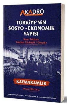 A Kadro Türkiyenin Sosyo Ekonomik Yapısı Konu Anlatımı ve Tamamı Çözümlü 5 Deneme