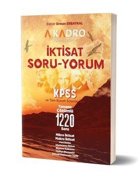 A Kadro Yayınları KPSS A Grubu İktisat Soru Yorum Soru Bankası