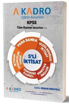 A Kadro Yayınları KPSS ve Tüm Sınavlar İçin 5 li İktisat