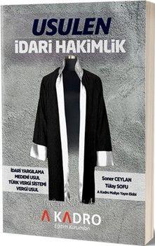 A Kadro YayınlarıUsulen İdari Hakimlik
