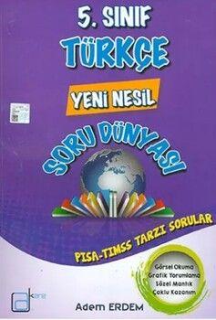 A Kare Yayınları 5. Sınıf Türkçe Yeni Nesil Soru Dünyası