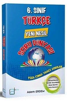 A Kare Yayınları 6. Sınıf Türkçe Yeni Nesil Soru Dünyası