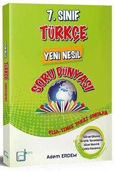 A Kare Yayınları 7. Sınıf Türkçe Yeni Nesil Soru Dünyası
