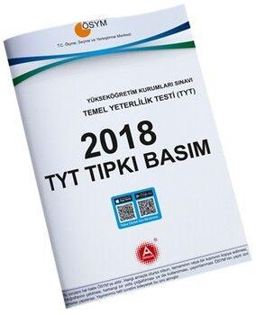 A Yayınları 2018 YKS TYT Tıpkı Basım Çıkmış Sorular