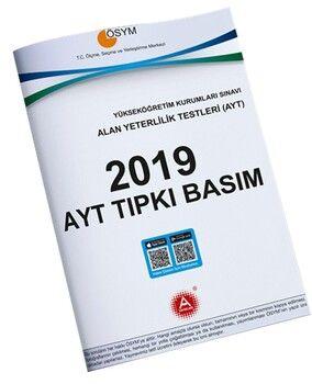 A Yayınları 2019 AYT Tıpkı Basım
