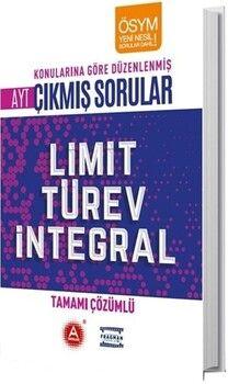 A Yayınları 2020 AYT Limit Türev İntegral Konularına Göre Düzenlenmiş Tamamı Çözümlü Çıkmış Sorular