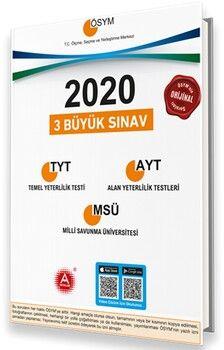 A Yayınları 2020 TYT AYT MSÜ Video Çözümlü Tıpkı Basım Orijinal Çıkmış Sorular