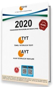 A Yayınları 2020 YKS TYT AYT Tıpkı Basım Seti
