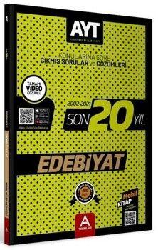 A Yayınları AYT Edebiyat Son 20 Yıl Çıkmış Soru Ve Çözümleri (2002-2021)
