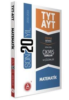 A Yayınları TYT AYT Matematik Son 20 Yıl Konu Konu Çıkmış Sorular