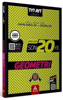 A Yayınları TYT AYT Geometri Son 20 Yıl Çıkmış Soru Ve Çözümleri (2002-2021)