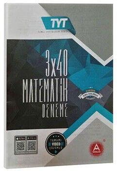 A Yayınları TYT Matematik 3x40 Deneme