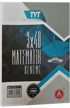 A Yayınları TYT Matematik 3x40 Deneme Sınavı