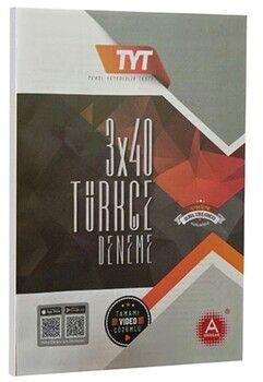 A Yayınları TYT Türkçe 3x40 Deneme
