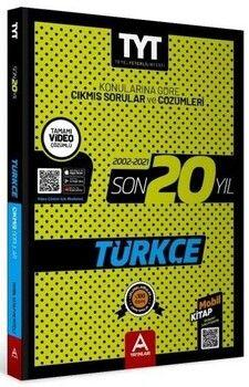 A Yayınları TYT Türkçe Son 20 Yıl Çıkmış Soru Ve Çözümleri (2002-2021)