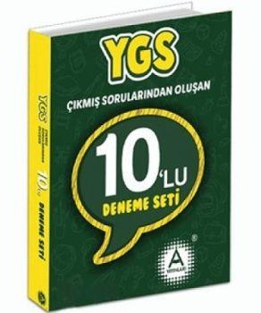 A Yayınları YGS Çıkmış Sorularından Oluşan 10 lu Deneme Seti