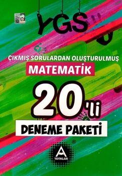 A Yayınları YGS Çıkmış Sorulardan Oluşturulmuş Matematik 20 li Deneme Paketi