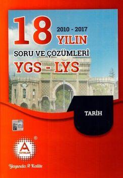 A Yayınları YGS LYS Tarih 18 Yılın Soru ve Çözümleri