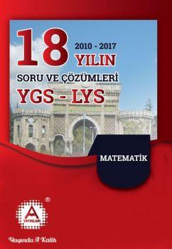 A Yayınları YGS LYS Matematik 18 Yılın Çıkmış Soruları ve Çözümleri