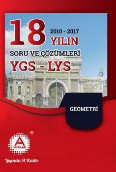 A Yayınları YGS LYS Geometri 18 Yılın Çıkmış Soruları ve Çözümleri