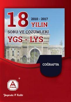 A Yayınları YGS LYS Coğrafya 18 Yılın Çıkmış Soruları ve Çözümleri